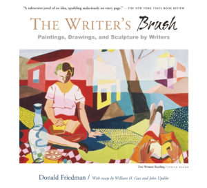 The Writer's Brush by Donald Friedman #art #artists #writers